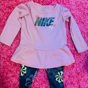 Nike outfit toddler girl 💜